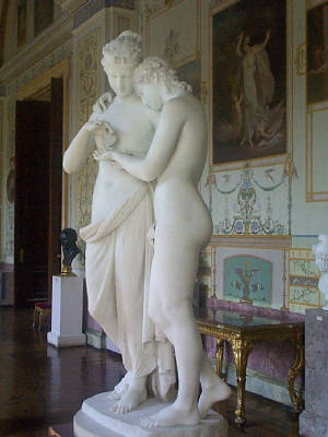 Cupid and Psyche, 1808, St. Petersburg, photo by Mak Thorpe