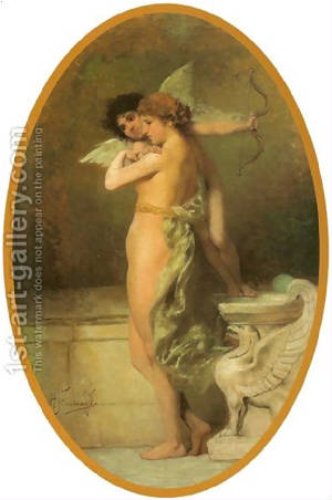 Eros Psyche and the Phoenix