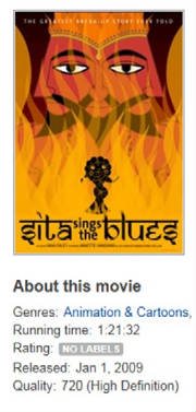 Sita Sings The Blues Movie