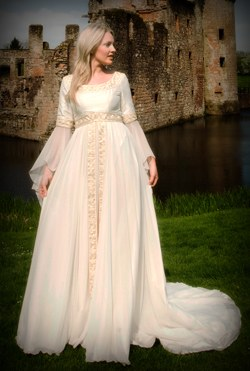 My Celtic Wedding Dress