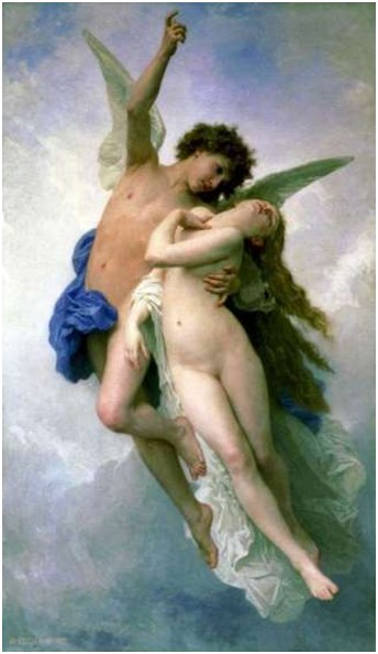 EROS takes PSYCHE away to the Heavenly Realms